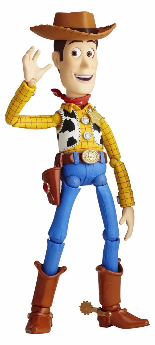 KAIYODO Legacy of Revoltech LR-045 Toy Story Woody Figure from Japan