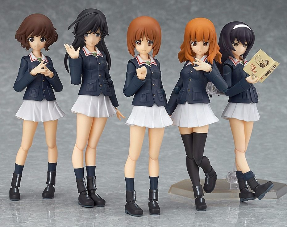 Figma EX-031 Girls und Panzer Ankou squadra Set cifra  Max Factory nuovo from Japan  buon prezzo