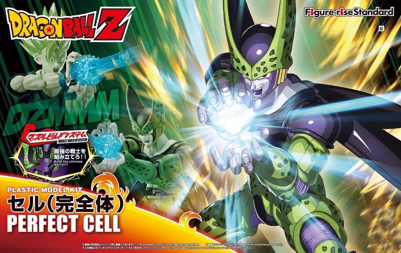 Bandai Figure-Rise Standard PERFECT CELL Model Kit Dragon Ball Z New Japan